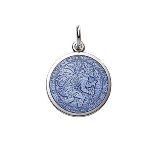 eb68aa03a3f Sterling Silver Enamel St. Christopher Medals – GBF Gifts